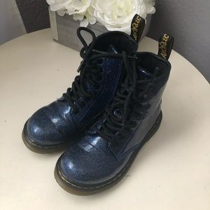 Dr Martens Pascal Patent Glitter Boot